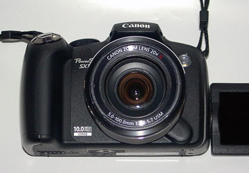 キヤノン「PowerShot SX1 IS」10